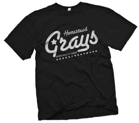 "Homestead Grays ""Touring"" T-Shirt Mockup - Negro League Baseball Shop"