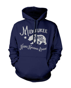 Milwaukee Bears Pullover Hoodie - Negro League Baseball Shop