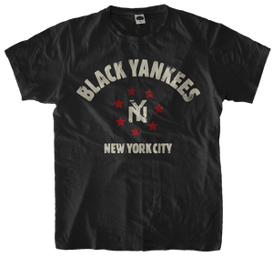 New York Black Yankees Handpainted T-Shirt