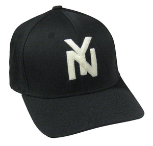 New York Black Yankees Wool Blend Cap – Negro League Baseball Shop ... b544288b547