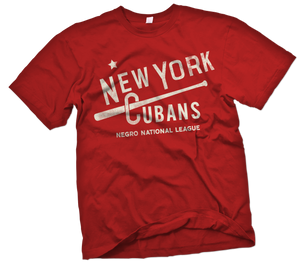 New York Cubans Handpainted T-Shirt - Negro League Baseball Shop