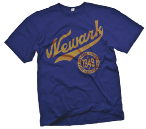 Newark Eagles Hand-Painted T-Shirt - Negro League Baseball Shop