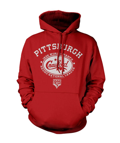 Pittsburgh Crawfords Pullover Hoodie - Negro League Baseball Shop