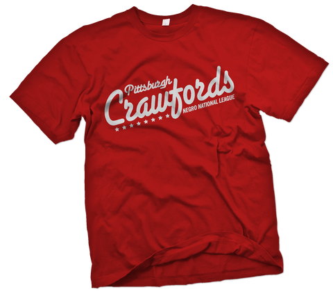 "Pittsburgh Crawfords ""Touring"" T-Shirt - Negro League Baseball Shop"