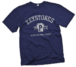 Pittsburgh Keystones Hand-Painted T-Shirt - Negro League Baseball Shop