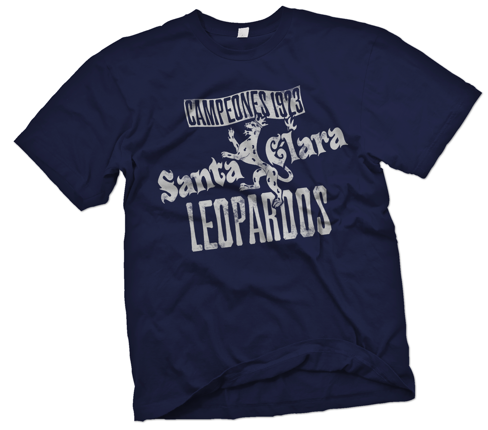 Santa Clara Leopardos Handpainted T-Shirt - Negro League Baseball Shop