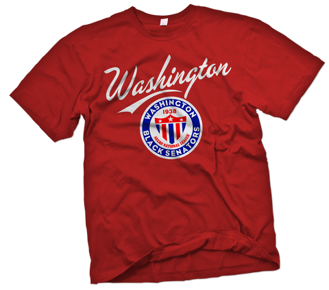 Washington Black Senators T-Shirt - Negro League Baseball Shop