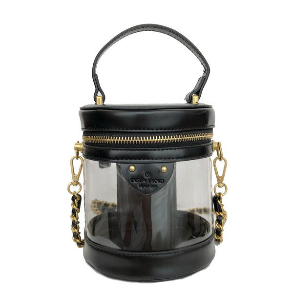 B18 Two way Bucket Bag - Black