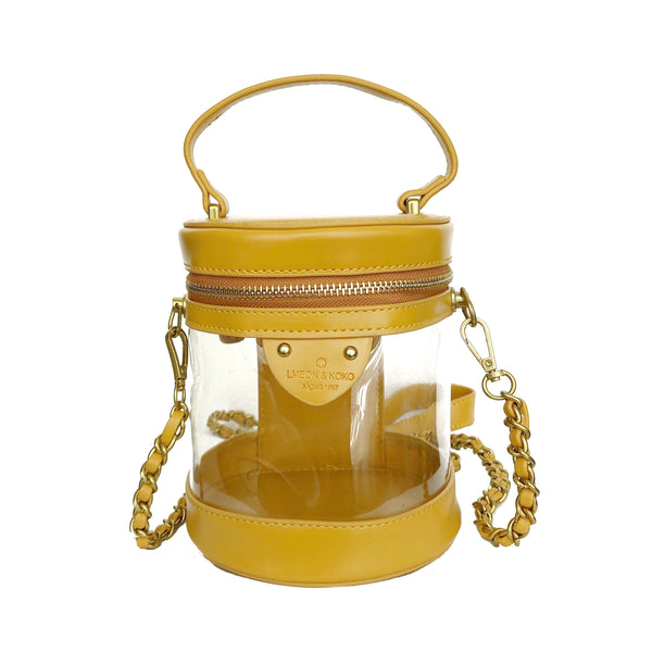 B18 Two way Bucket Bag - Yellow