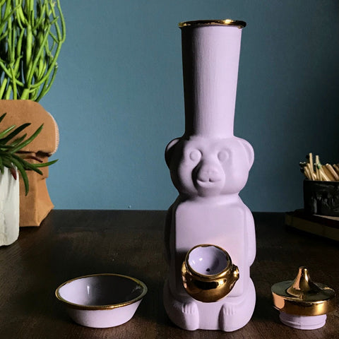 Honey Bear Bubbler Pink