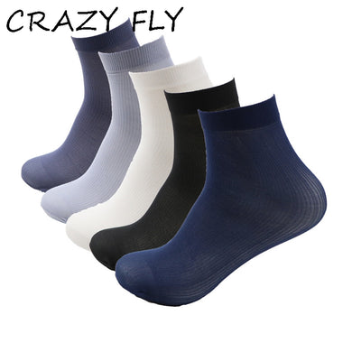 5f45b4ff3 CRAZY FLY Summer Lady Male Thin Short Socks Stretching Crystal Socks