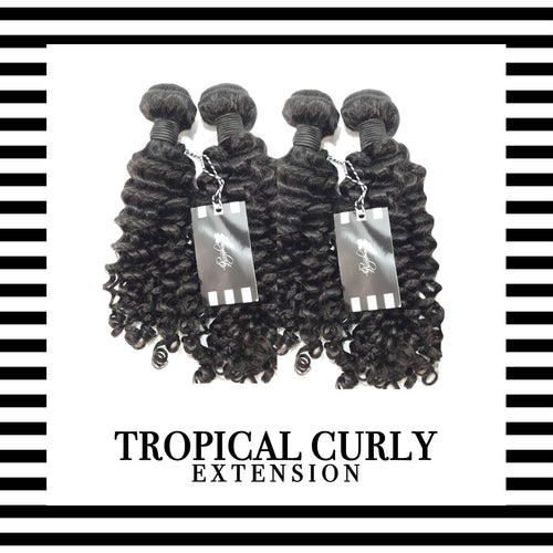 Tropical Curly Extensions