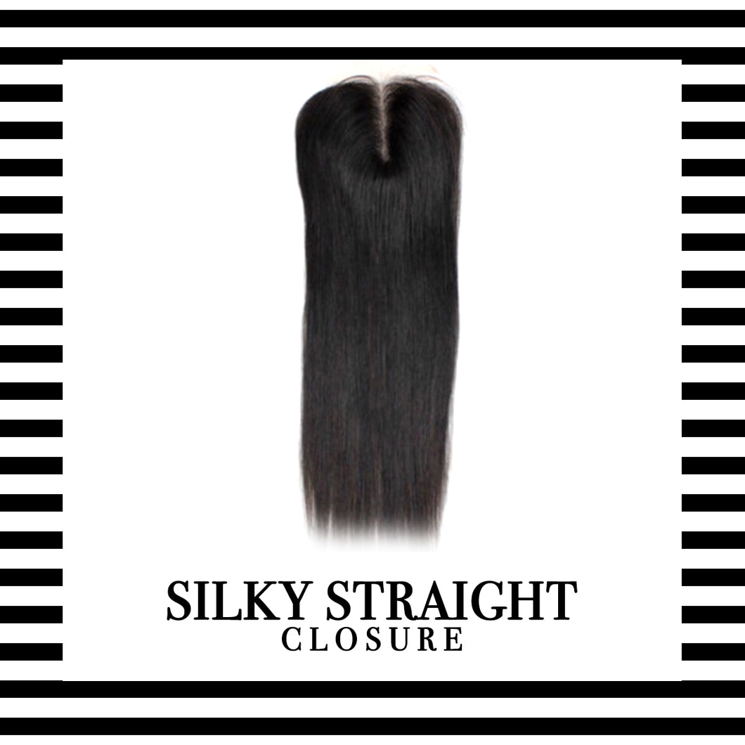 Mink Silky Straight Closure