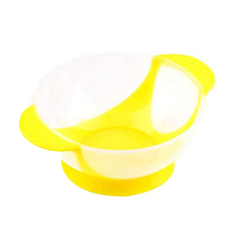 Baby Dishes Kids Plastic Feeding Bowl