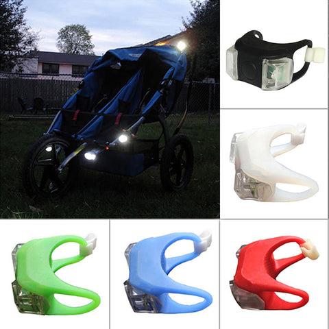 Baby Stroller Night Waterproof Silicone Light