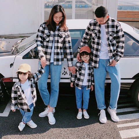 Family Matching Shirt Outfits