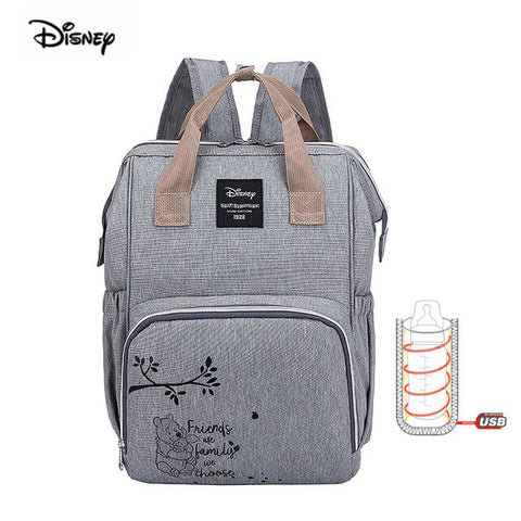 Disney Mickey Minnie Large Capacity  Diaper Bag