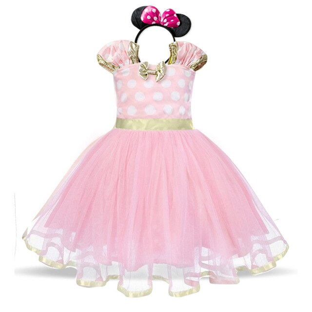 Baby Girl Polka Dots Birthday Dress