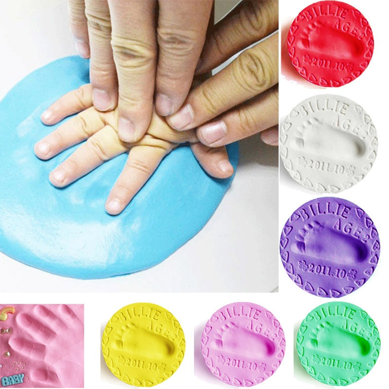 Baby Footprint Air Drying Soft Clay imprint