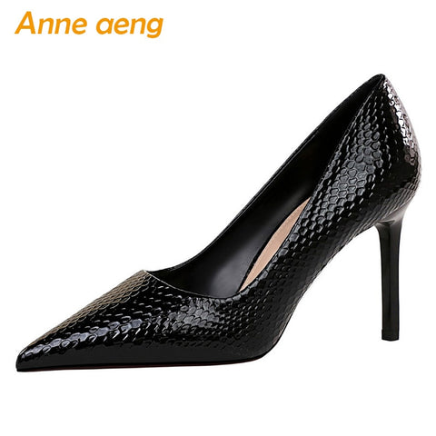 Black High Heel Pumps