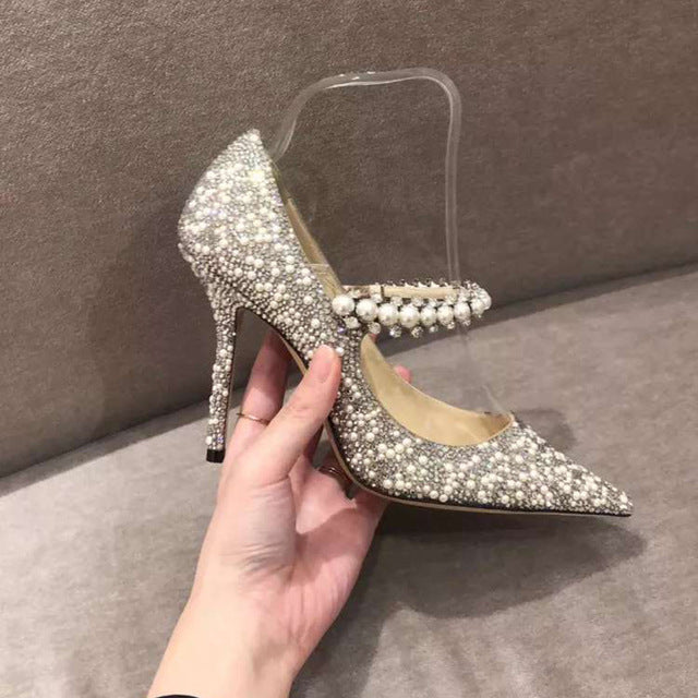 2020 New Crystal Women Pumps