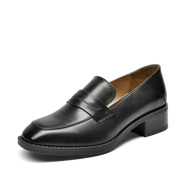 Women's Oxford Leather Pumps