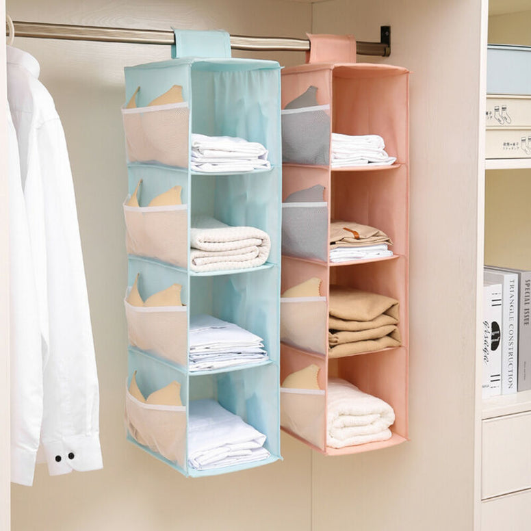 Closet Organizer for Dorms, Baby Items, Diapers and More.