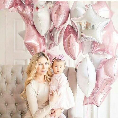 12PCS Baby Shower 18 inch Foil Balloon Party Decoration