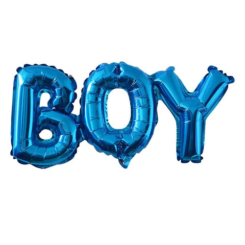 Baby Shower Balloons Blue Pink