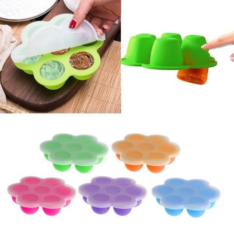 Baby Food Container Infant Fruit Breast Milk Storage Box Freezer Tray