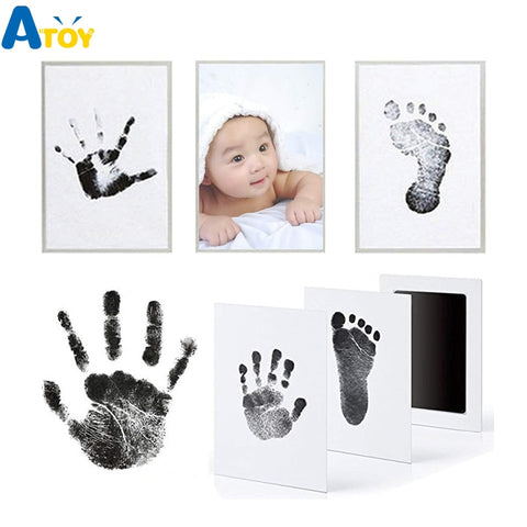 Footprint Imprint Kit Baby Ink Pad Keepsake