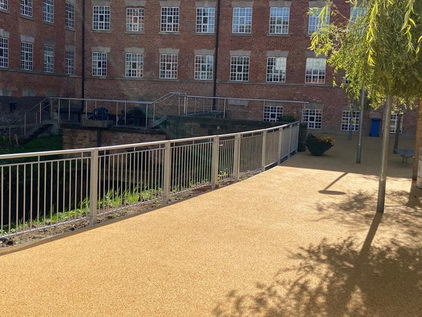 Bespoke Metal Railings for JCB Academy