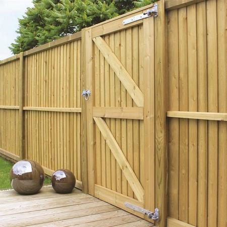 Timber Closeboard Gates | Trentham Fencing