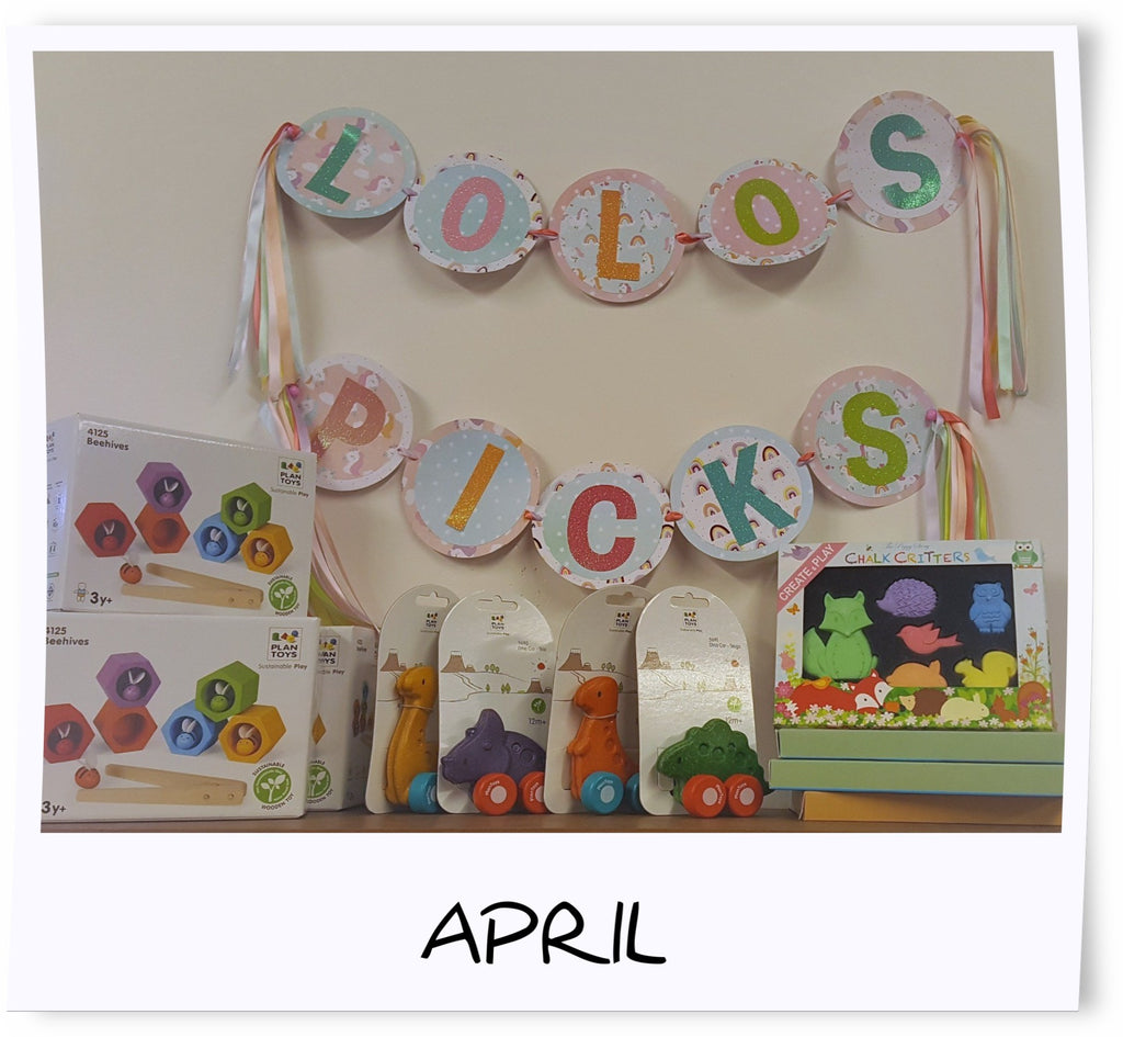 LoLo's Picks for April