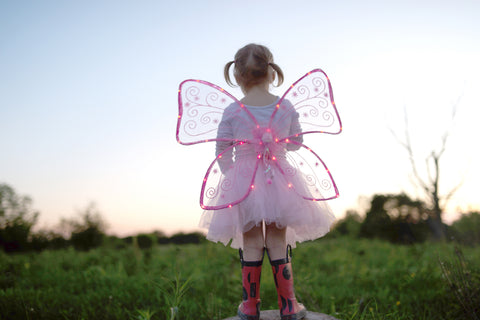 Magical Light Up Wings-Pink