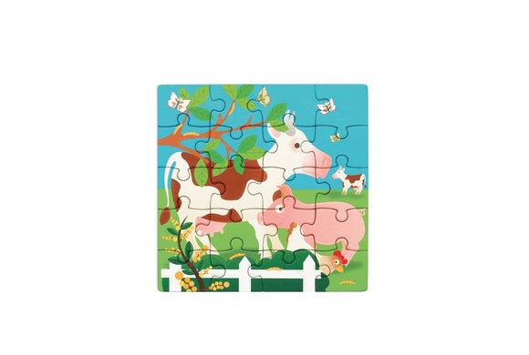 Book to Go Farm Magnetic Puzzle