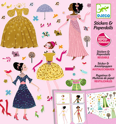 Paper Dolls-Dresses Through the Seasons