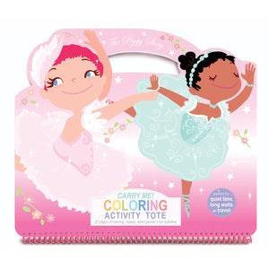 Carry Me! Coloring Activity Tote- Pretty Ballerinas