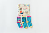 Q for Quinn - Book and Matching Socks