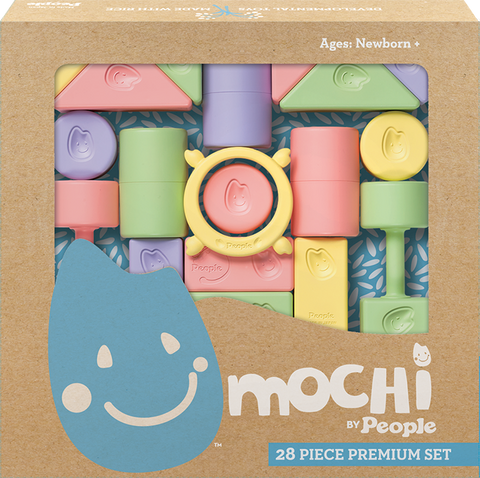 Mochi Blocks Baby Shower Set
