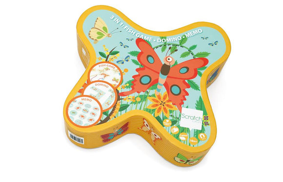 3-in-1 Butterfly Game