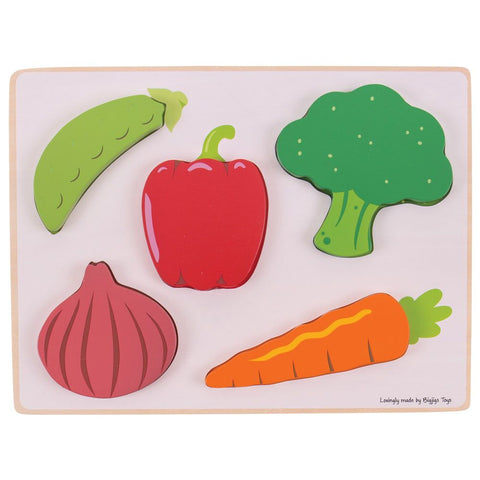 Lift and See Puzzle-Vegetables
