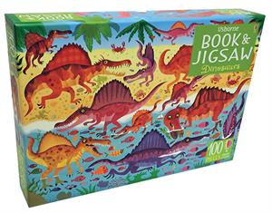 Dinosaurs Book & Jigsaw Puzzle