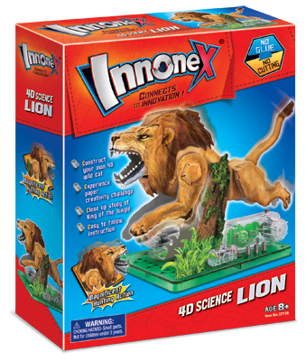 4D Science Lion