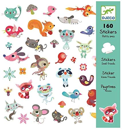 Stickers-Little Friends