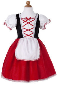 Little Red Ridding Hood Tea Party Dress