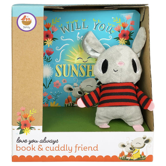 Will You Be My Sunshine Book & Plush Gift Set