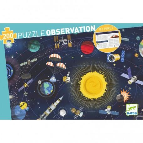 Observation Puzzle - Space and Booklet