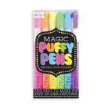 Magic Puffy Pens - 6 ct