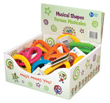 Musical Rattles - Various Shapes